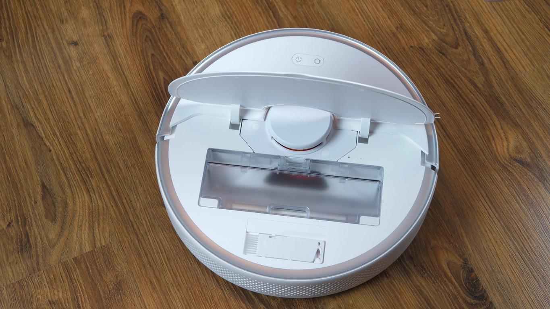 Roborock S6 Pure - recenzja robota sprzątającego - pod klapką