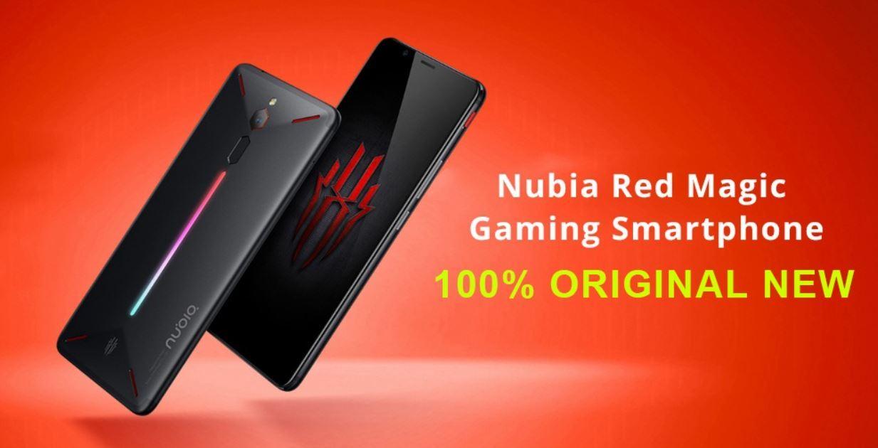 Smartfon Nubia Red Magic - wersja globalna - nowa i w 100% oryginalna