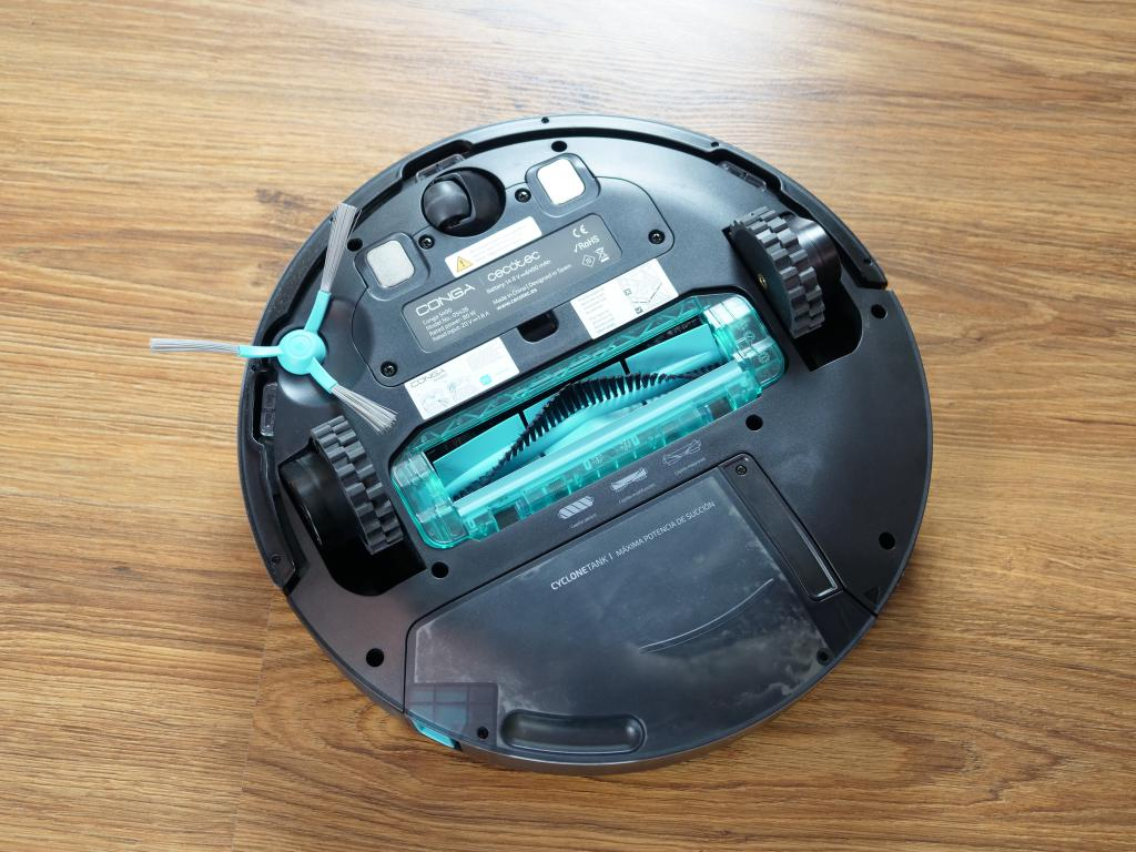 Cecotec Conga 5490 - recenzja robota sprzątającego o ogromnej mocy - szczotka hybrydowa