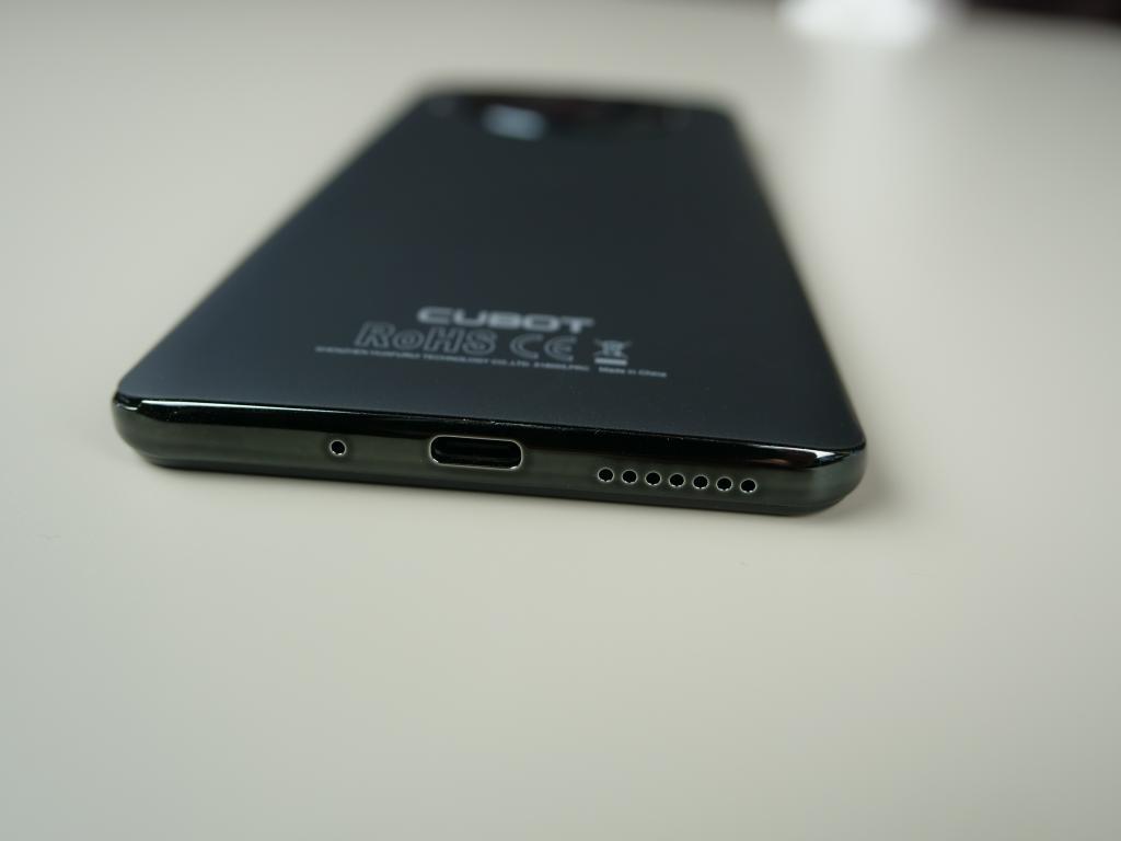 Cubot Note 20 PRO - recenzja smartfona z Aliexpress za 400 zł - gniazdo ładowania