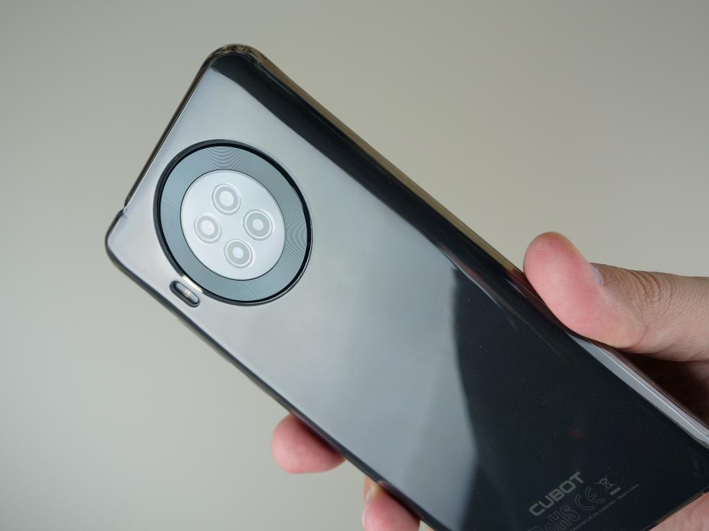 Cubot Note 20 PRO - recenzja smartfona z Aliexpress za 400 zł - plecy smartfona