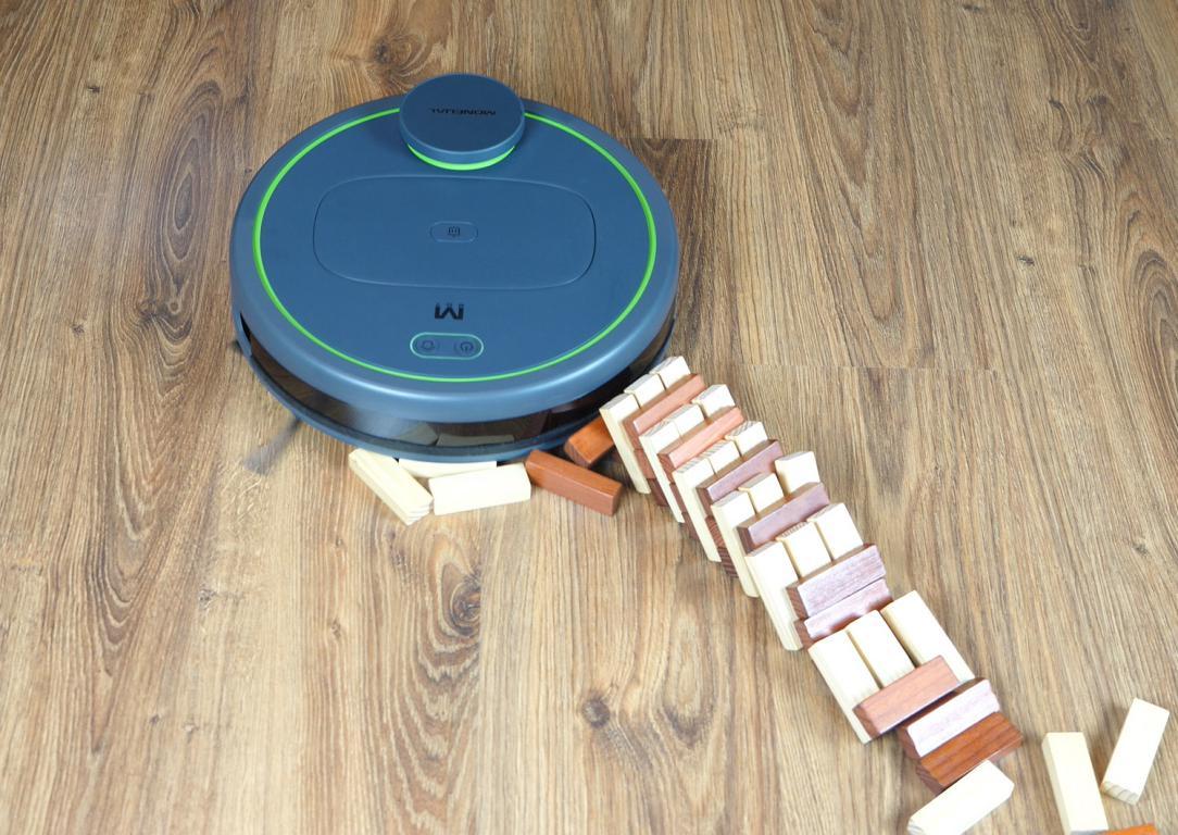 Moneual MBOT 950 - recenzja robota sprzątającego - omijanie przeszkód