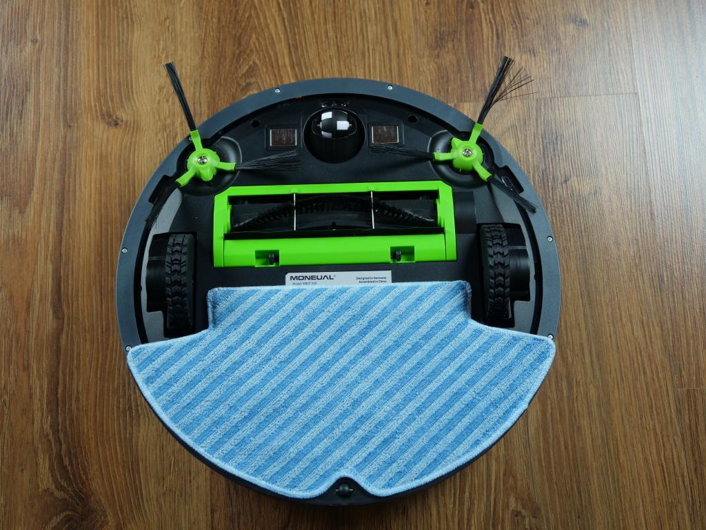 Moneual MBOT 950 - recenzja robota sprzątającego - z mopem