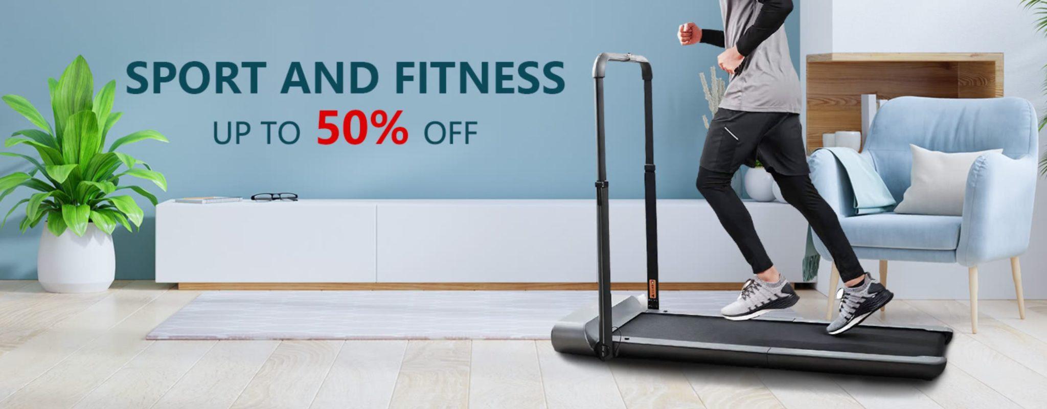 Noworoczna wyprzedaż sprzętu fitness - bieżnie i rowerki w super cenach - przeceny do 50%