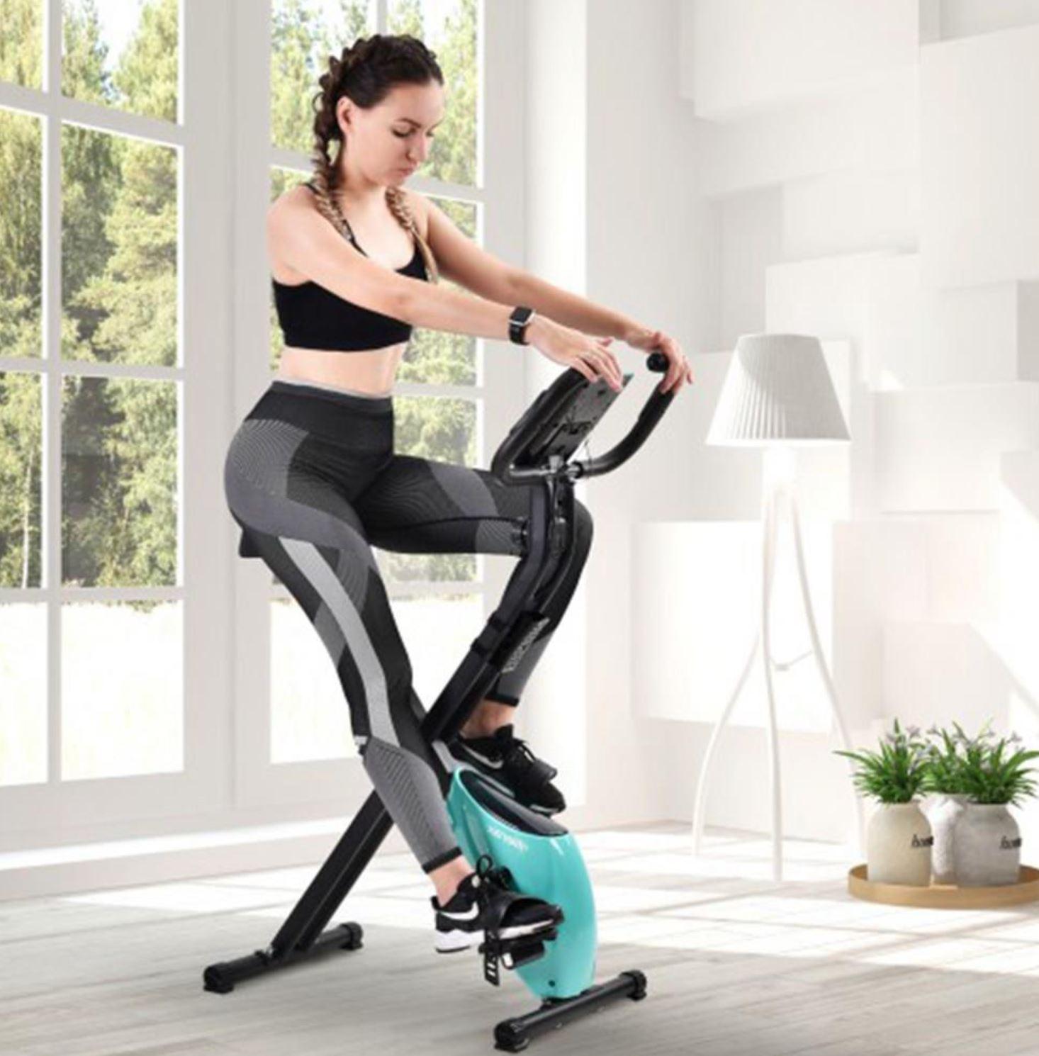 Noworoczna wyprzedaż sprzętu fitness - bieżnie i rowerki w super cenach - rower Merax X-Bike