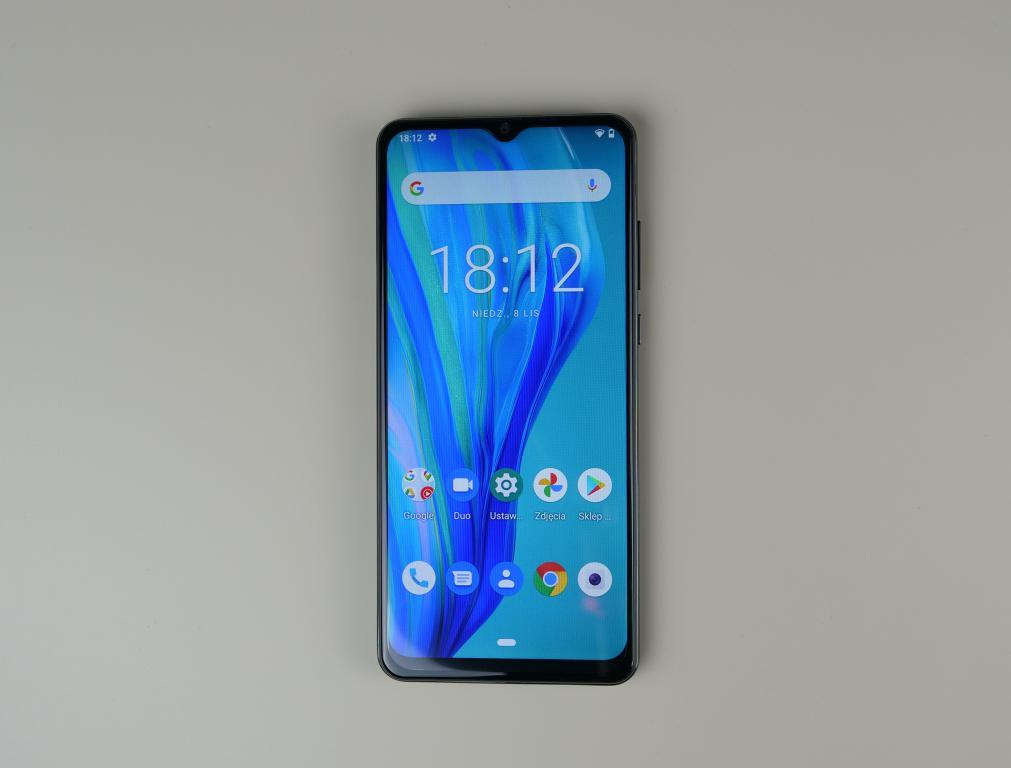 Cubot Note 20 PRO - recenzja smartfona z Aliexpress za 400 zł - po włączeniu