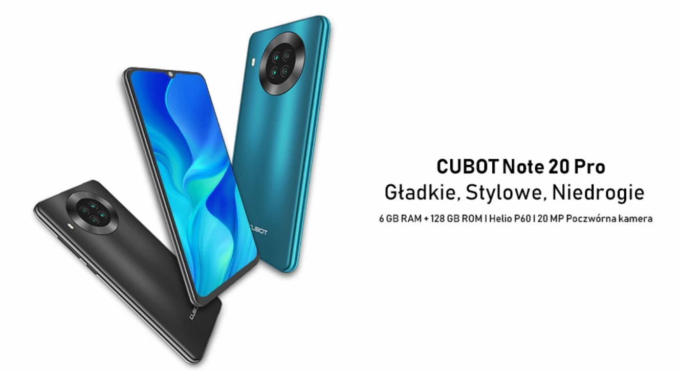 Cubot Note 20 PRO - recenzja smartfona za 400 zł