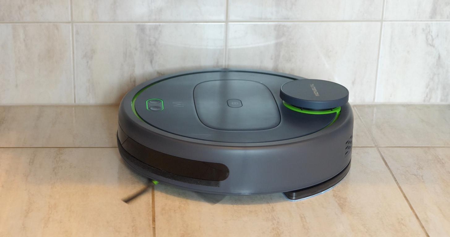 Moneual MBOT 950 - recenzja robota sprzątającego - mopowanie