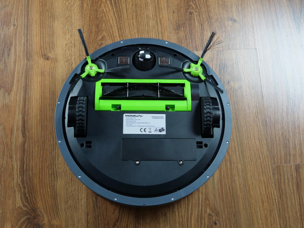 Moneual MBOT 950 - recenzja robota sprzątającego - spód
