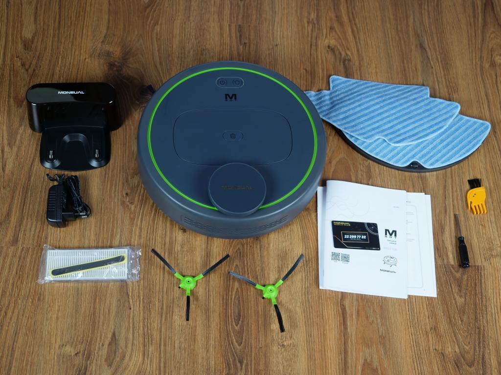 Moneual MBOT 950 - recenzja robota sprzątającego - unboxing