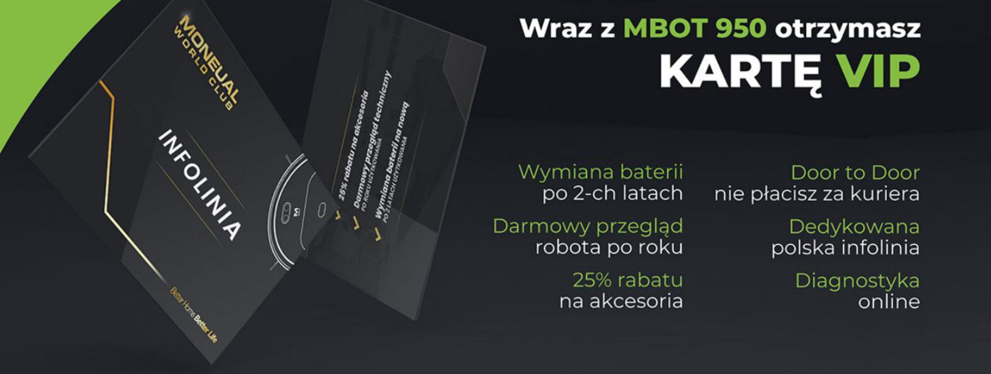 Moneual - pakiet korzyści z kartą VIP