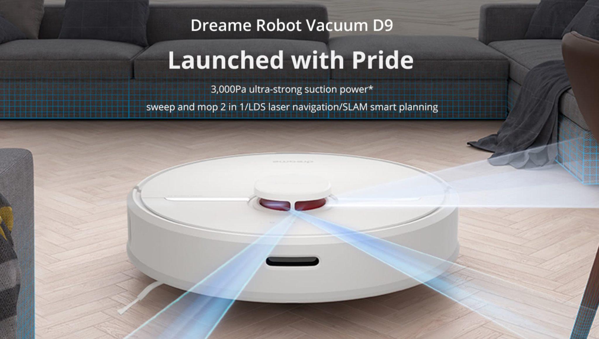 Dreame D9 - kod rabatowy na robot sprzątający