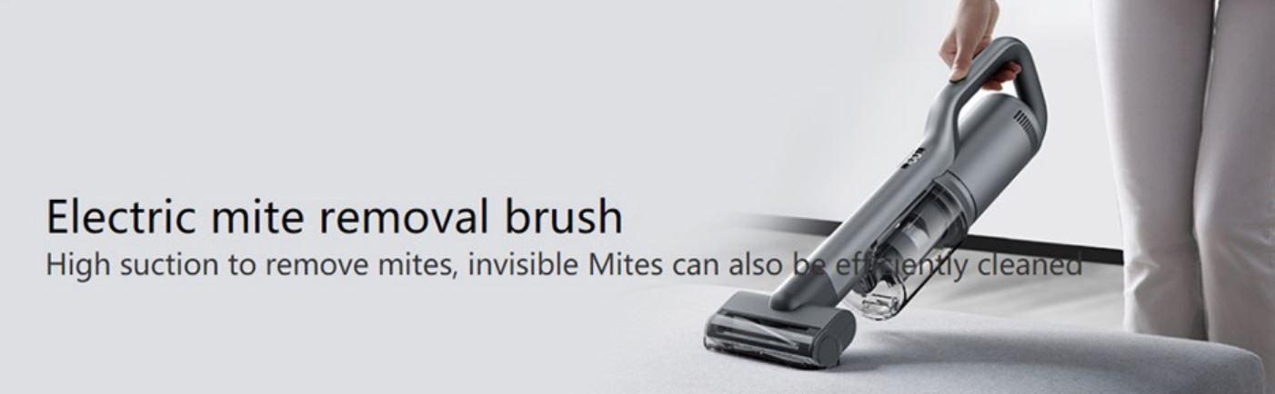 Roidmi Nex 2 Plus - nowy odkurzacz pionowy z mopowaniem - mała elektroszczotka