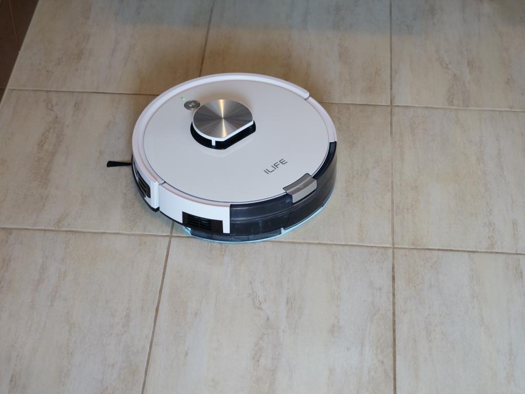 iLife L100 - recenzja robota sprzątającego - mopowanie