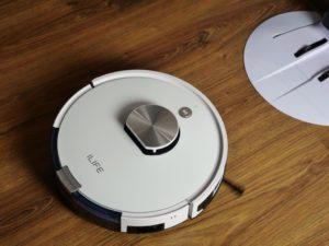 iLife L100 - recenzja robota sprzątającego - powrót do bazy