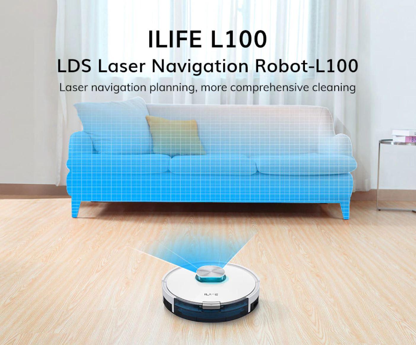 iLife L100 - robot sprzątający z Aliexpress