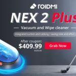 Roidmi Nex 2 Plus - nowy odkurzacz pionowy z mopowaniem