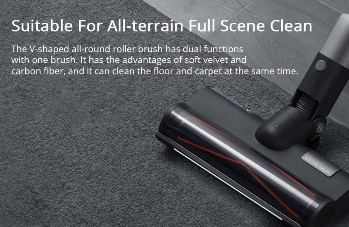 Roidmi Nex 2 Plus - nowy odkurzacz pionowy z mopowaniem - elektroszczotka do podłóg