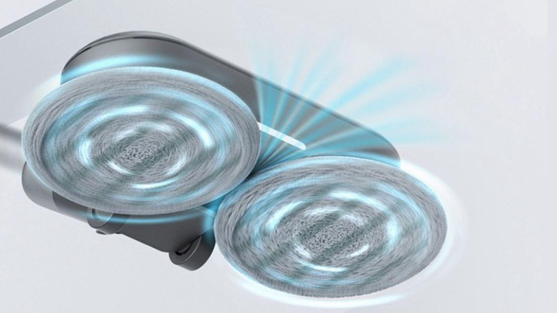 Roidmi Nex 2 Plus - nowy odkurzacz pionowy z mopowaniem - mopowanie