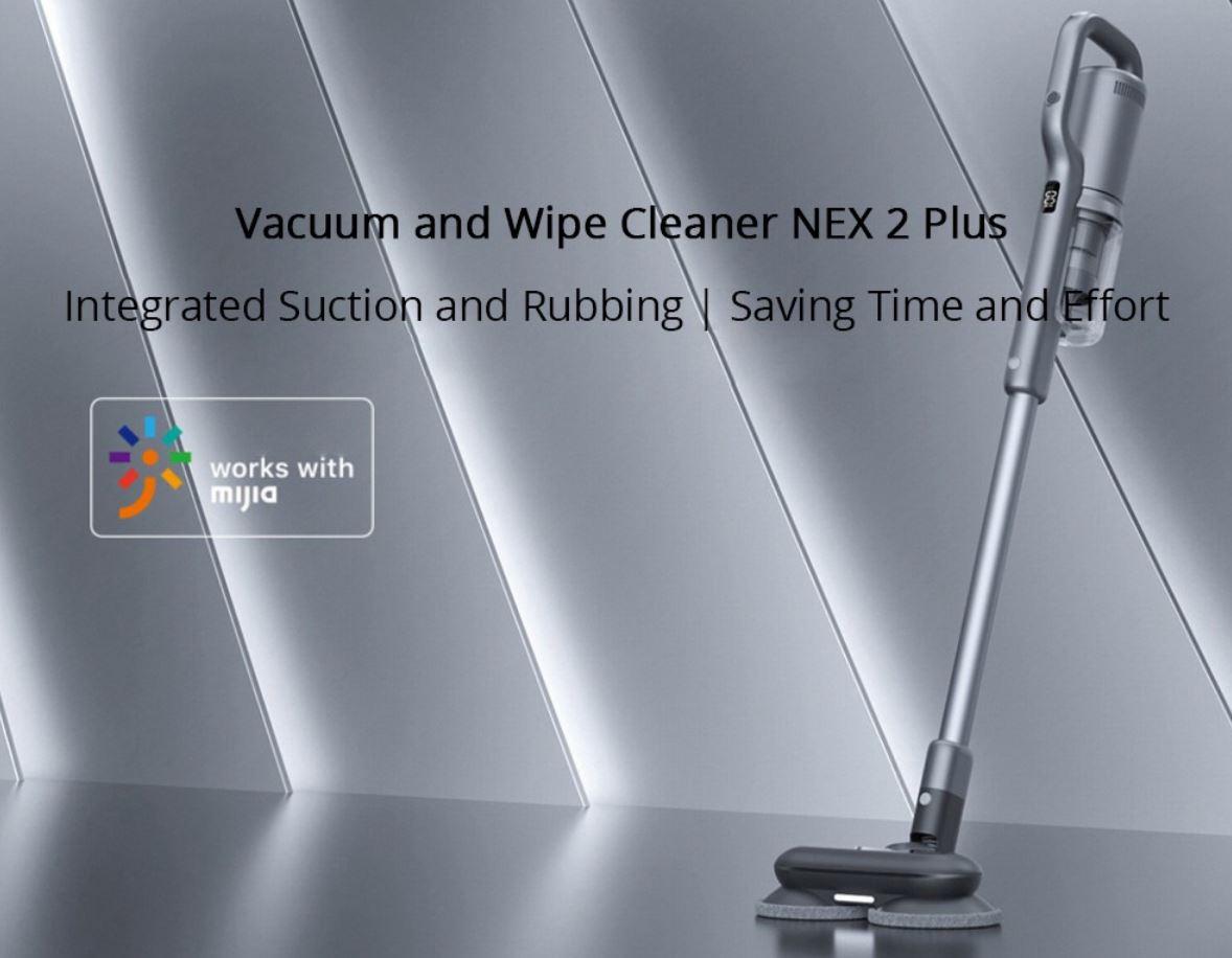 Roidmi Nex 2 Plus - nowy odkurzacz pionowy z mopowaniem - odkurza i mopuje