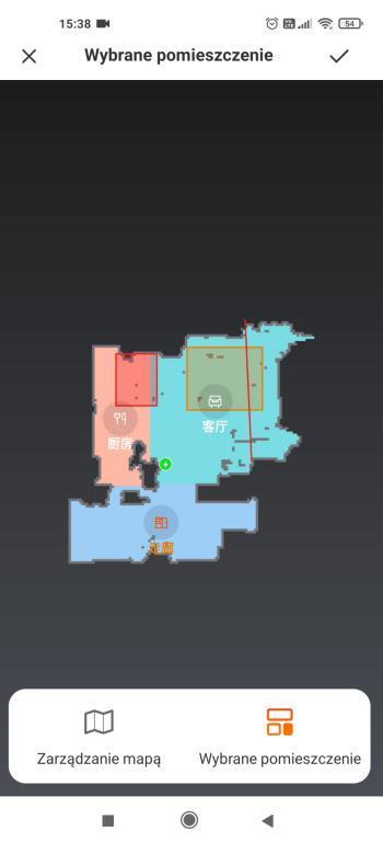 iLife L100 - aplikacja - wirtualne ściany, strefy zakazane i podział na pokoje
