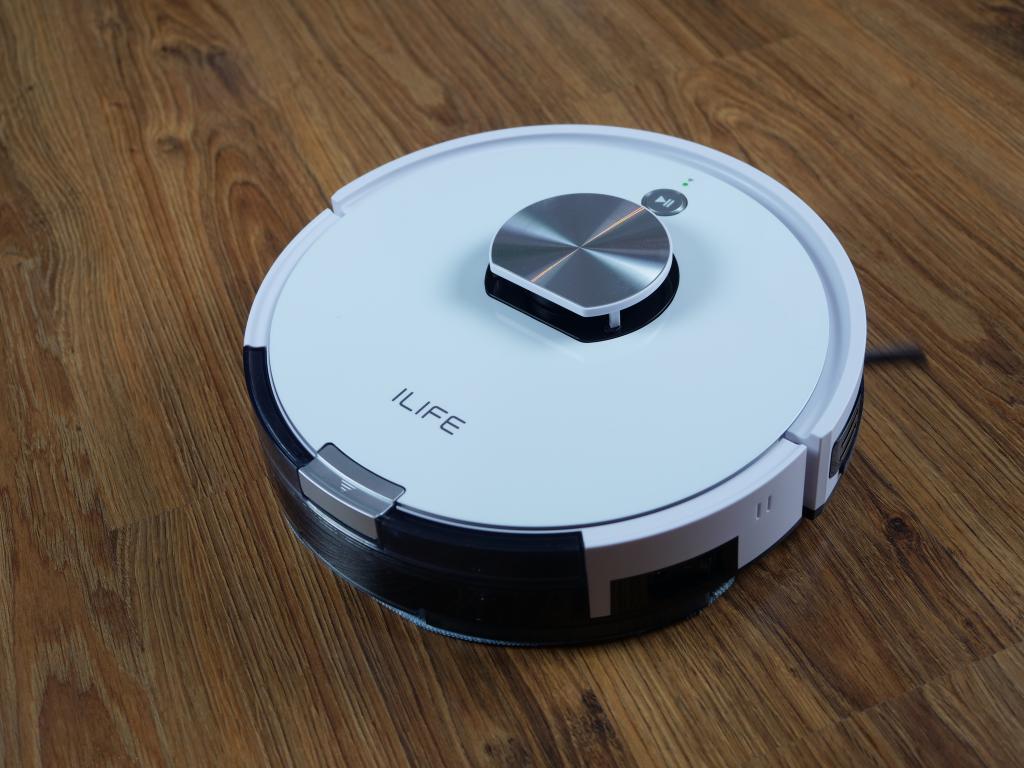 iLife L100 - recenzja robota sprzątającego - mopowanie paneli