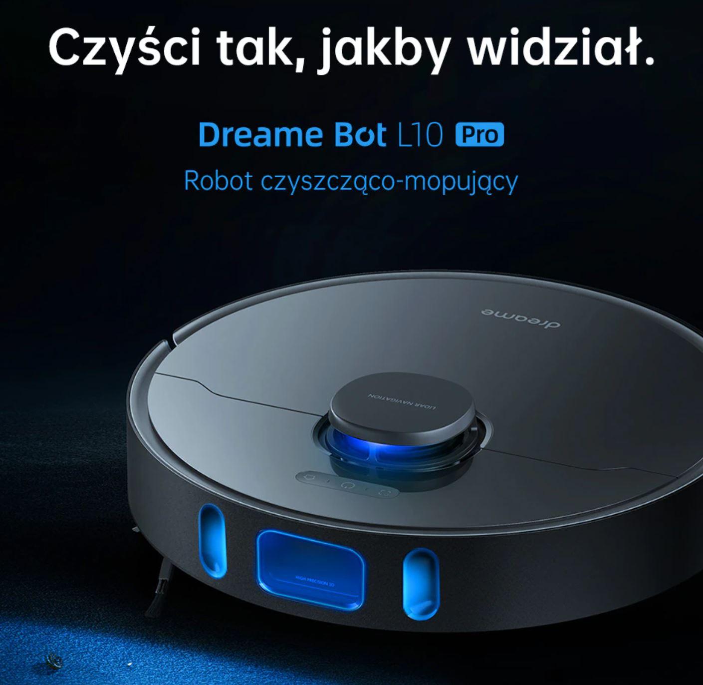 Dreame Bot L10 Pro - robot sprzątający