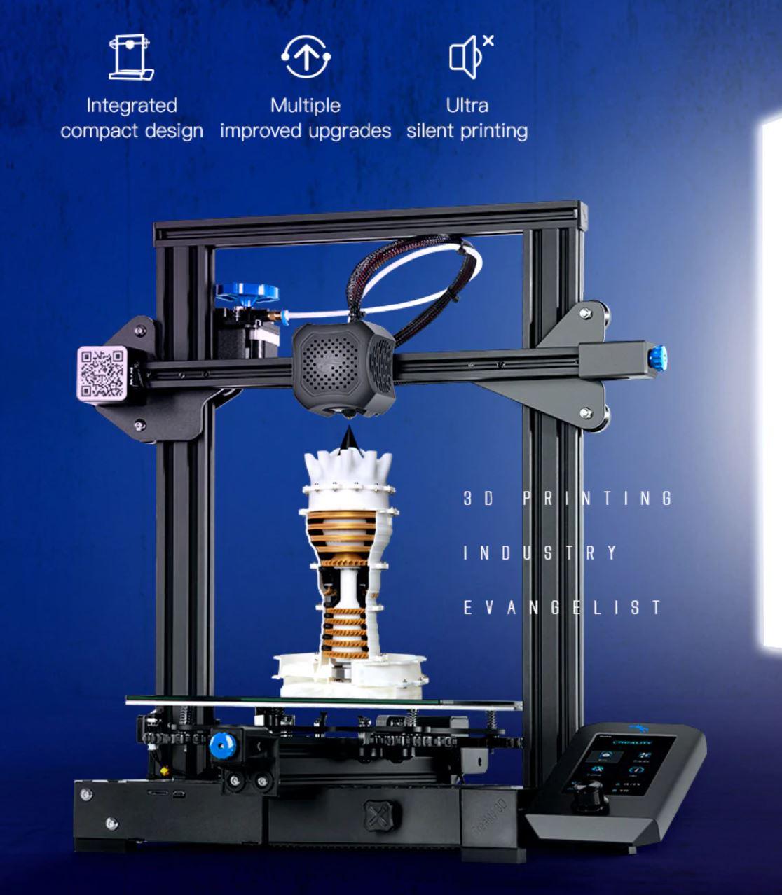 Obłędne oferty Aliexpress - Drukarka 3D CREALITY 3D Ender 3 V2
