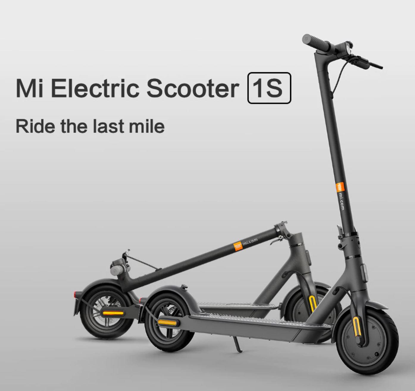 Pojazdy elektryczne z Aliexpress - hulajnoga elektryczna Xiaomi Mi Electric Scooter 1S