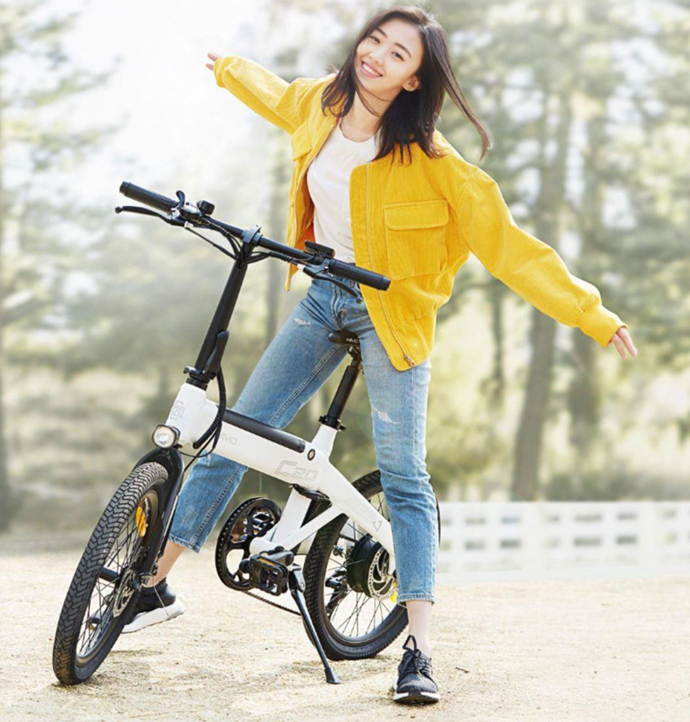 Pojazdy elektryczne z Aliexpress - rower elektryczny HIMO C20
