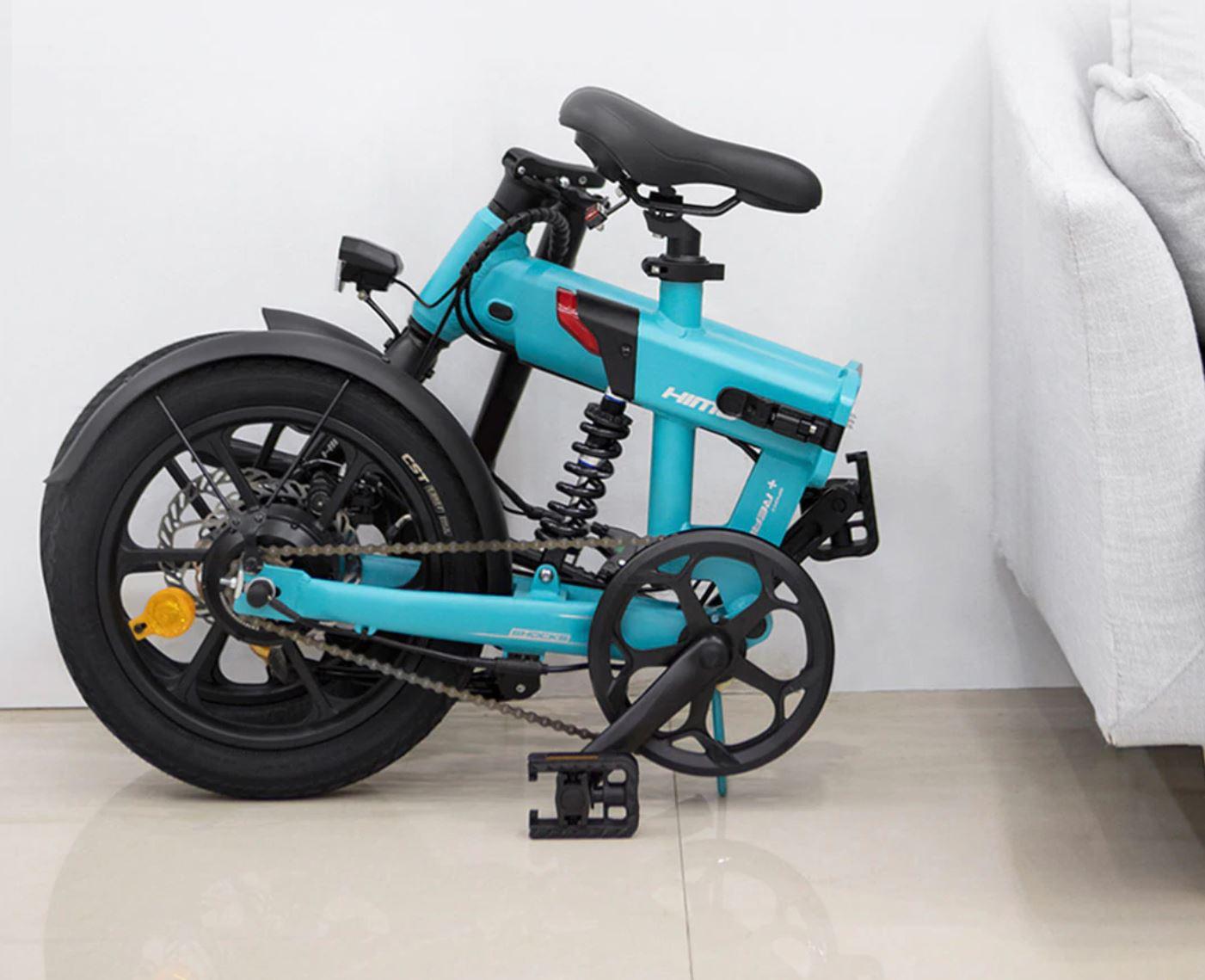 Pojazdy elektryczne z Aliexpress - rower elektryczny HIMO Z16 po złożeniu