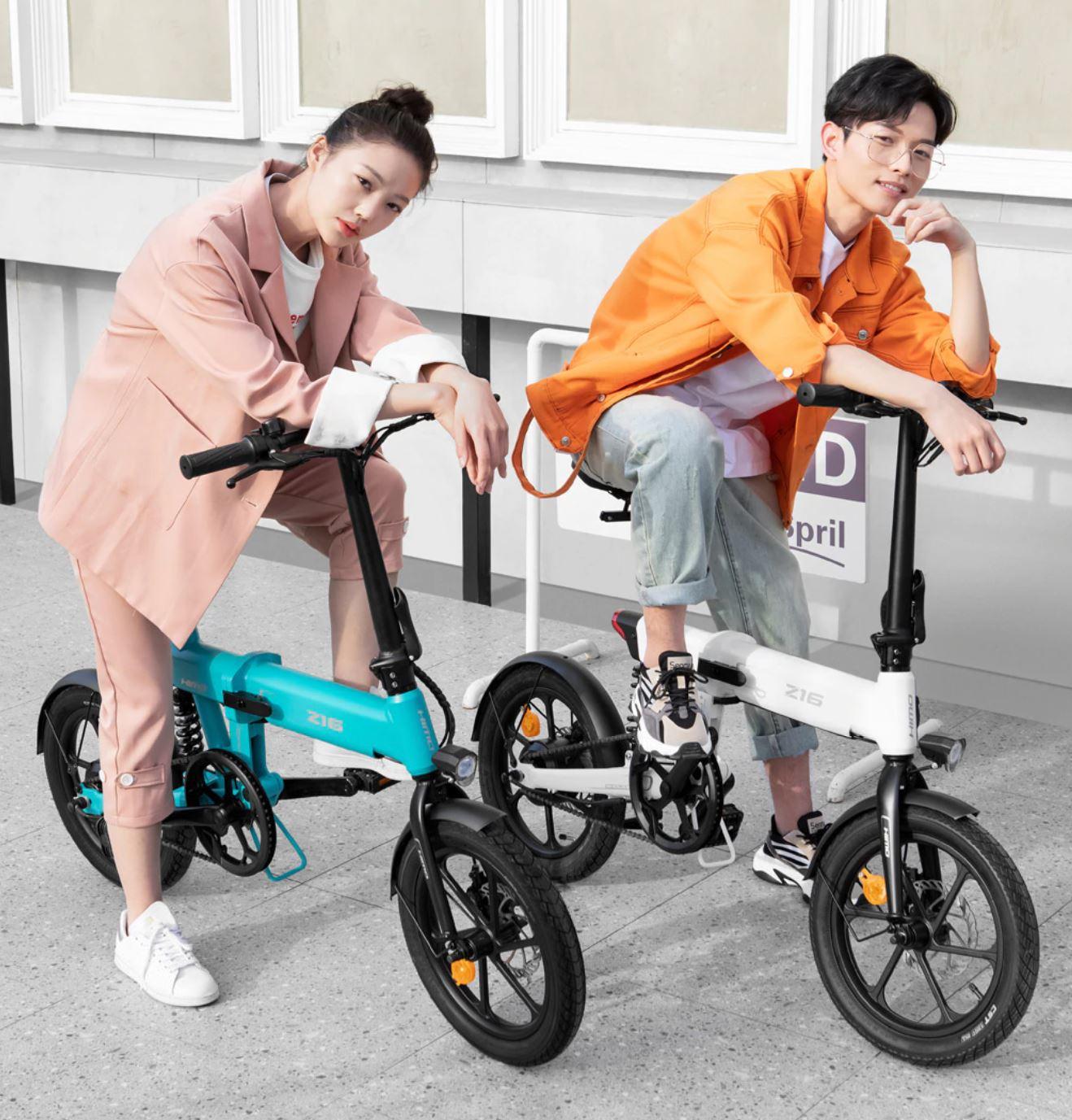 Pojazdy elektryczne z Aliexpress - rower elektryczny HIMO Z16