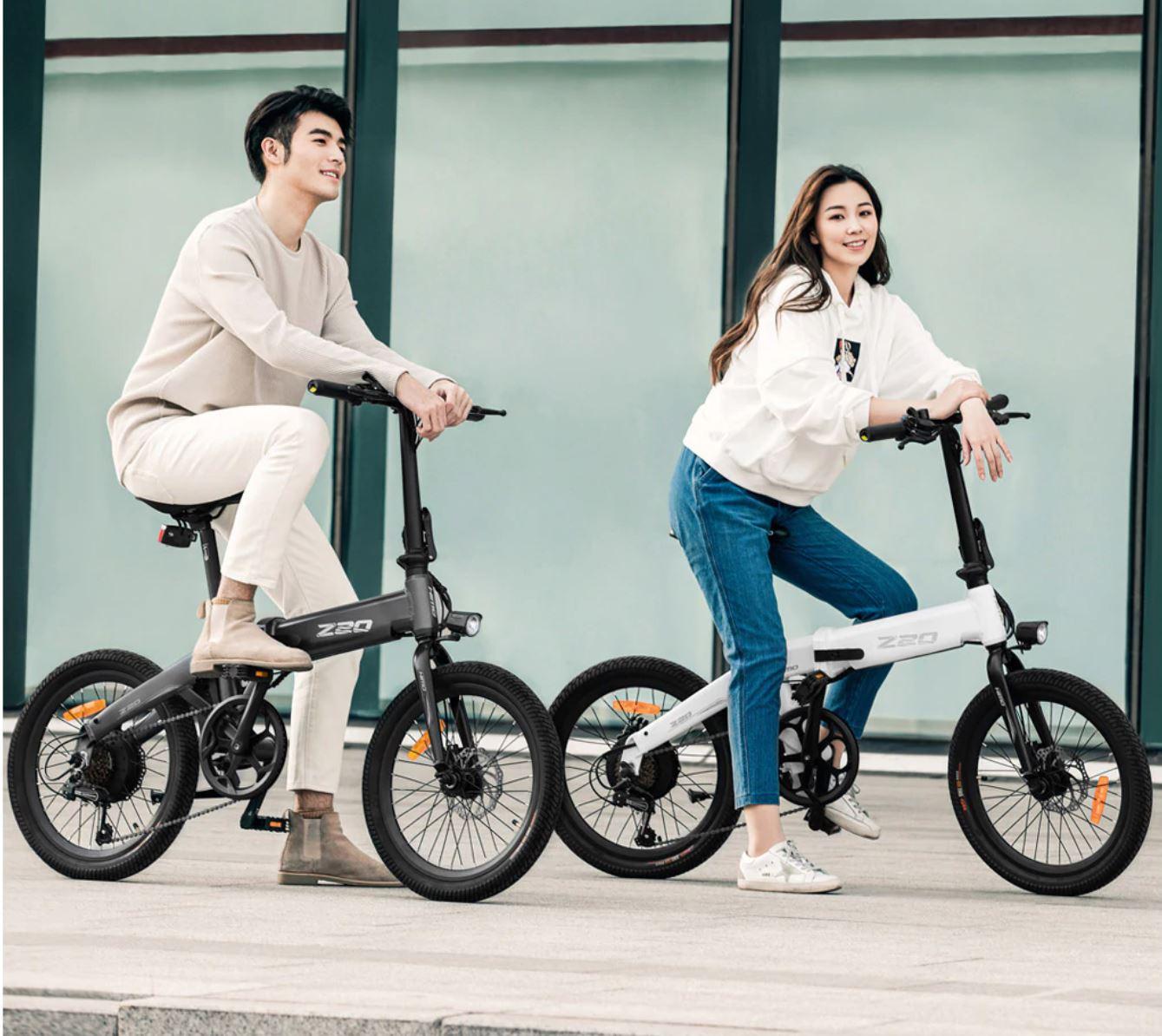 Pojazdy elektryczne z Aliexpress - rower elektryczny HIMO Z20