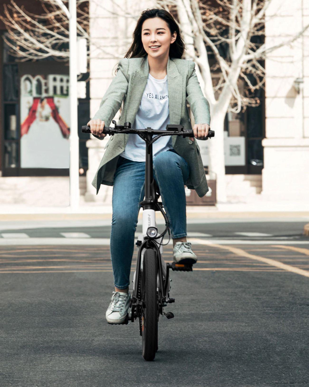 Pojazdy elektryczne z Aliexpress - rowery i hulajnogi elektryczne - HIMO Z20