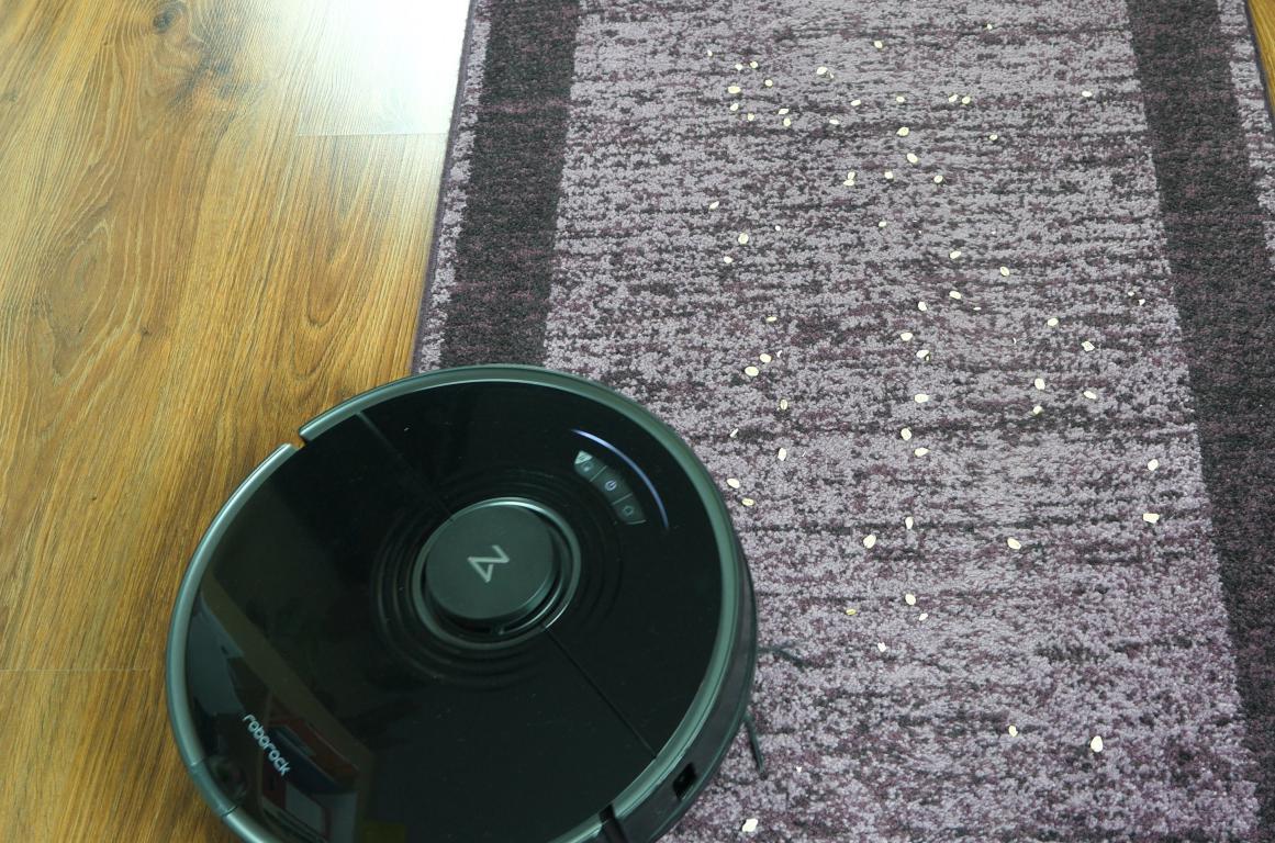 Roborock S7 - odkurzanie dywanów