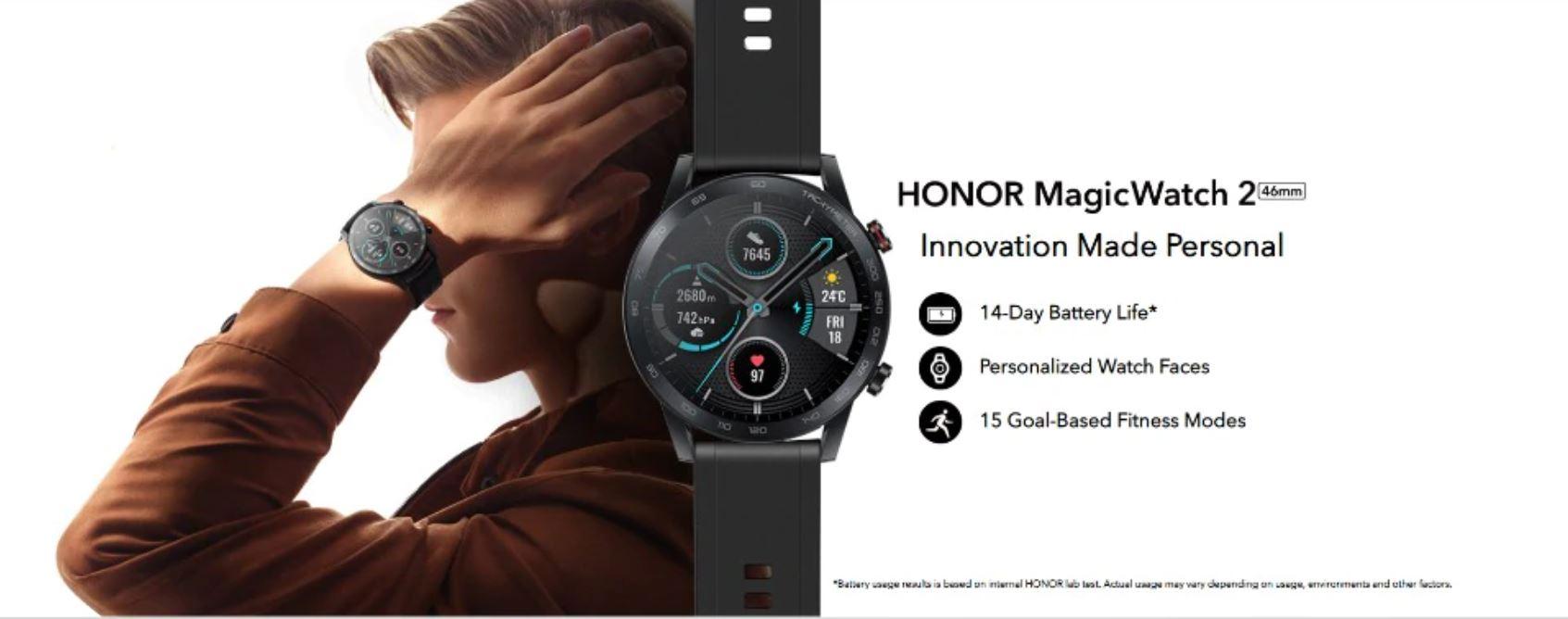 Smartwatche z Aliexpress - bogata oferta w rewelacyjnie niskich cenach - HONOR MagicWatch 2