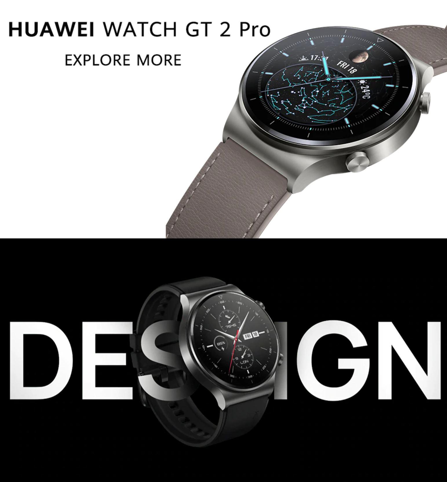 Smartwatche z Aliexpress - bogata oferta w rewelacyjnie niskich cenach - Huawei Watch GT 2 Pro