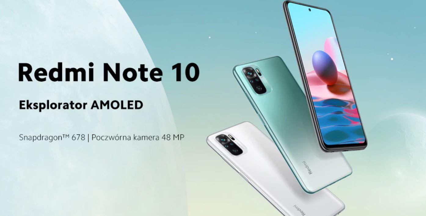 smartfony z Aliexpress - Redmi Note 10
