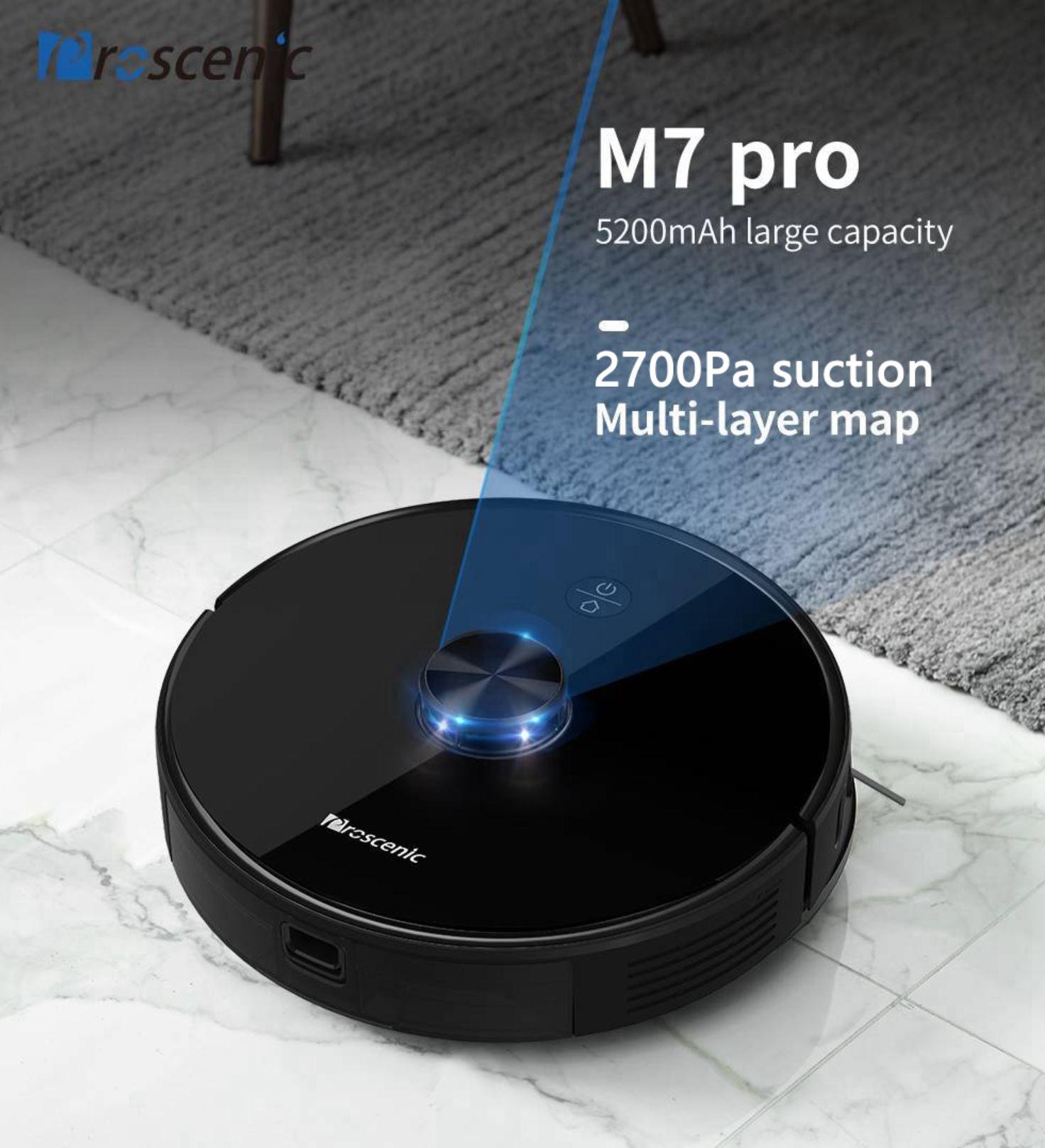 Promocja Proscenic M8 Pro - robot ze stacją na kurz w super cenie - oferta Proscenica M7 Pro
