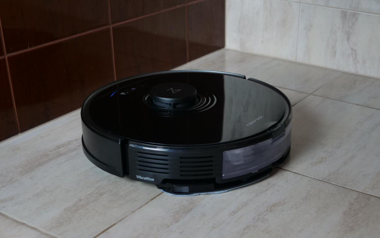 Roborock S7 - recenzja robota sprzątającego - mopowanie