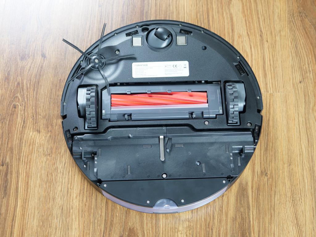 Roborock S7 - recenzja robota sprzątającego z sonicznym mopem - spód robota