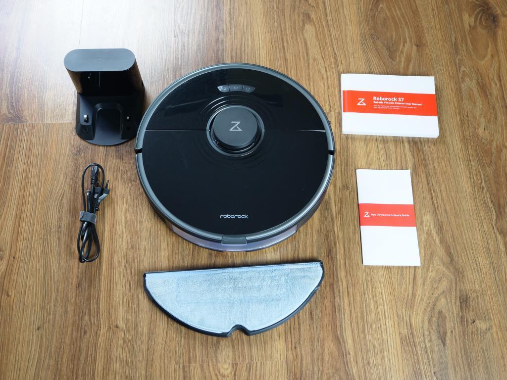 Roborock S7 - recenzja robota sprzątającego z sonicznym mopem - zawartość zestawu