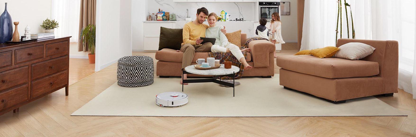 Roborock S7 - robot sprzątający - rodzina