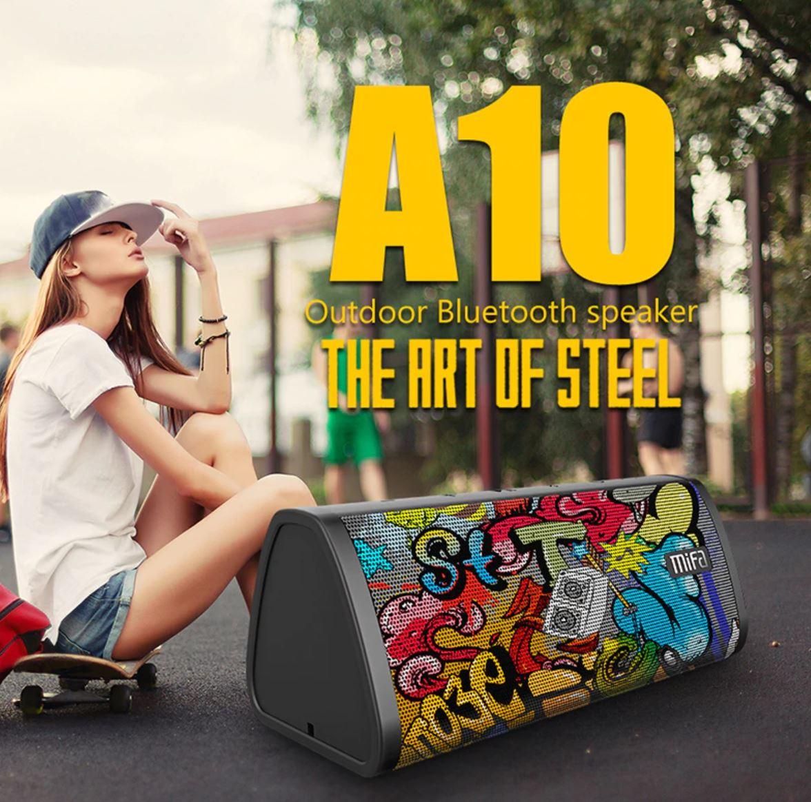Słuchawki i głośniki Bluetooth z Aliexpress - promocyjne oferty - głośnik Bluetooth Mifa A10
