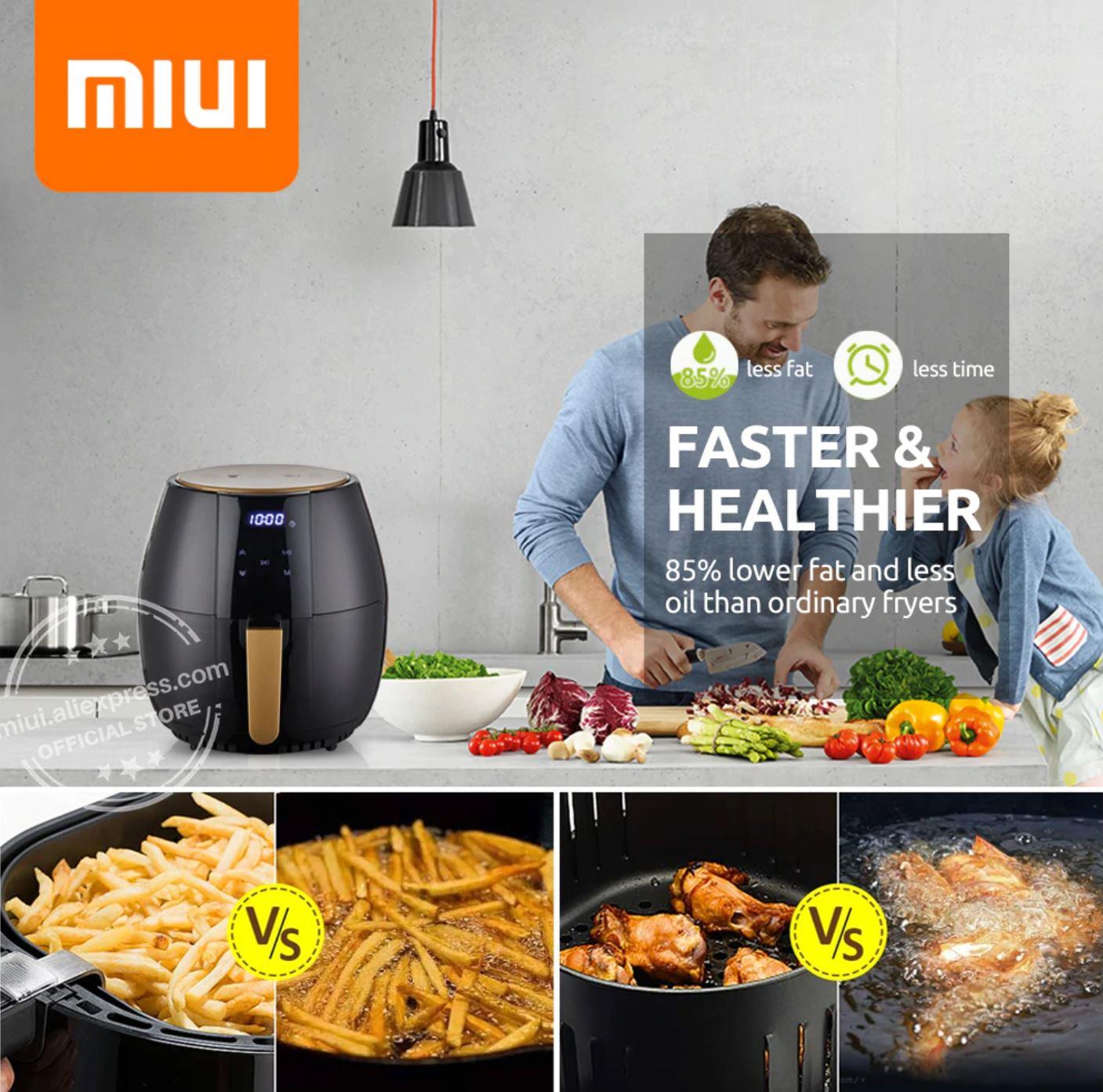 Sprzęty kuchenne z Aliexpress - przegląd najciekawszych sprzętów - AirFryer MIUI