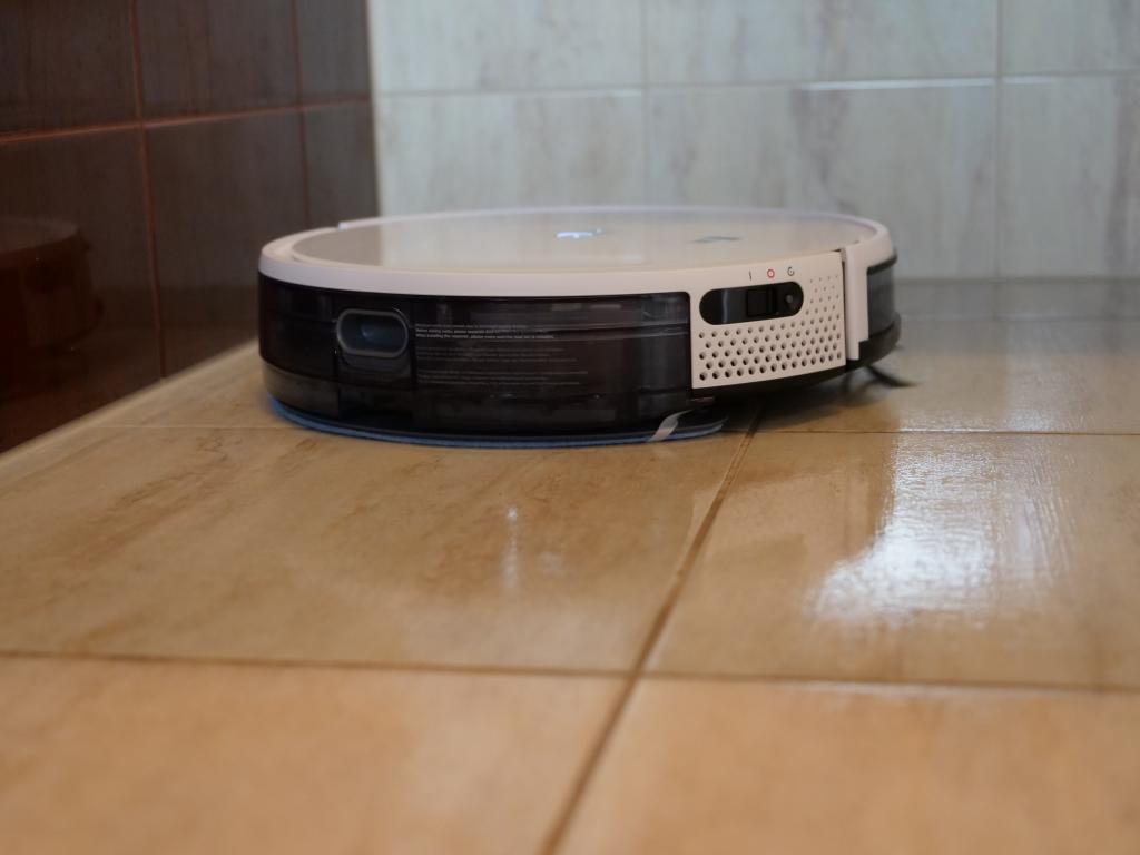 Yeedi K650 - recenzja taniego robota sprzątającego z Aliexpress - mopowanie