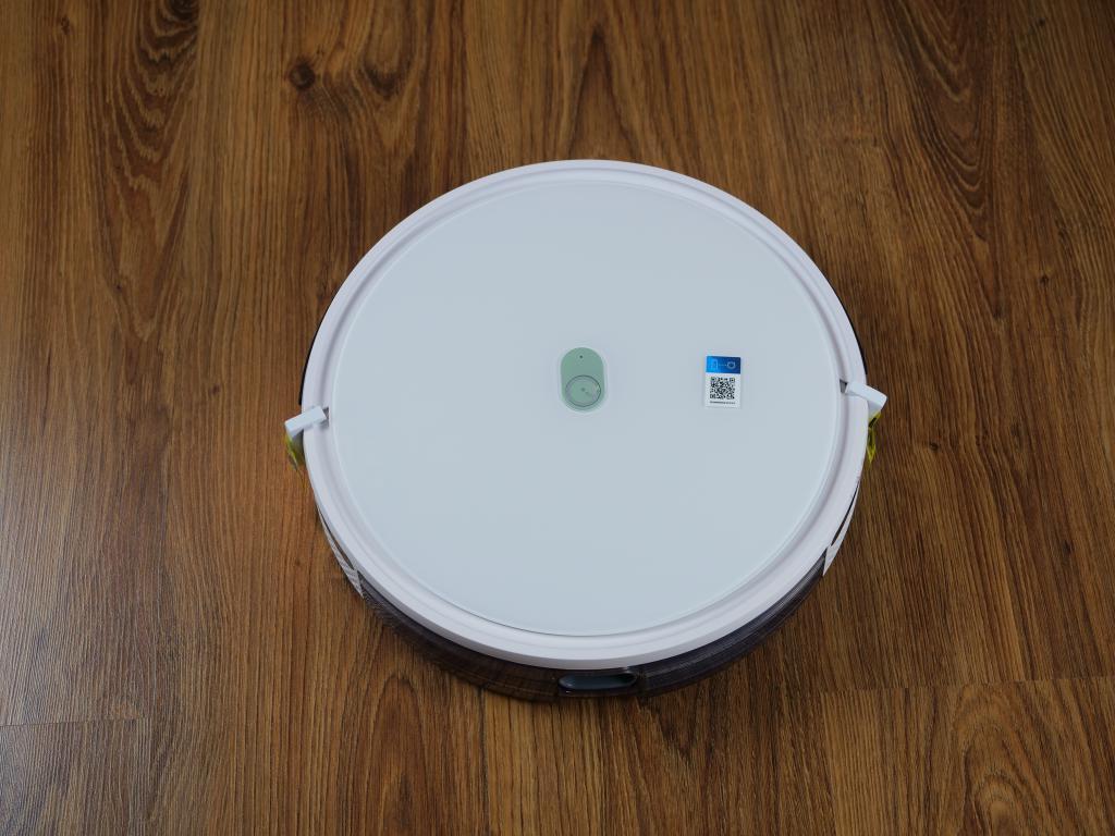 Yeedi K650 - recenzja taniego robota sprzątającego z Aliexpress - robot z góry
