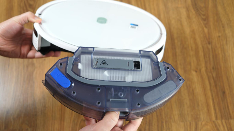 Yeedi K650 - robot sprzątający - pojemnik 2 w 1 i czyścik