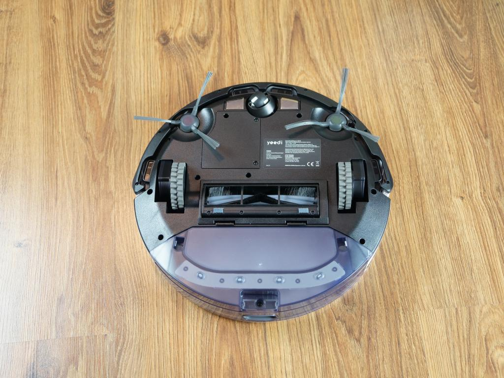 Yeedi K650 - robot sprzątający - spód robota