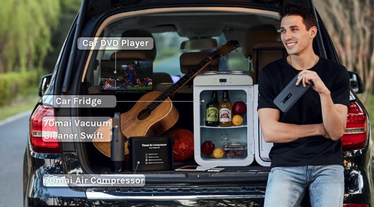 Akcesoria samochodowe z Aliexpress - prostownik rozruchowy 70mai - różne zastosowania jako power bank
